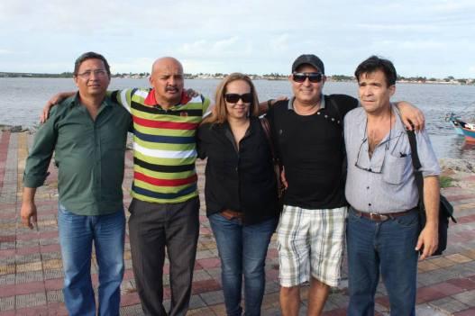 Fabio Camelo, Robertinho dos 8 baixos, Iranei Barreto, Givaldo Kleber e José Lessa. (2013)