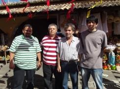 Equipe do IZP no São João de Alagoas: Márcio Rodrigues, Ivan Barsand, José Lessa e Isaac Neves. (2012)