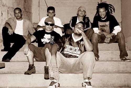 Da esquerda para direita - Jhon Raifer, zezé, Eli Alves, Tribo, Chaprado e Rudson Rasta. Foto: Arquivo/FavelaSoul