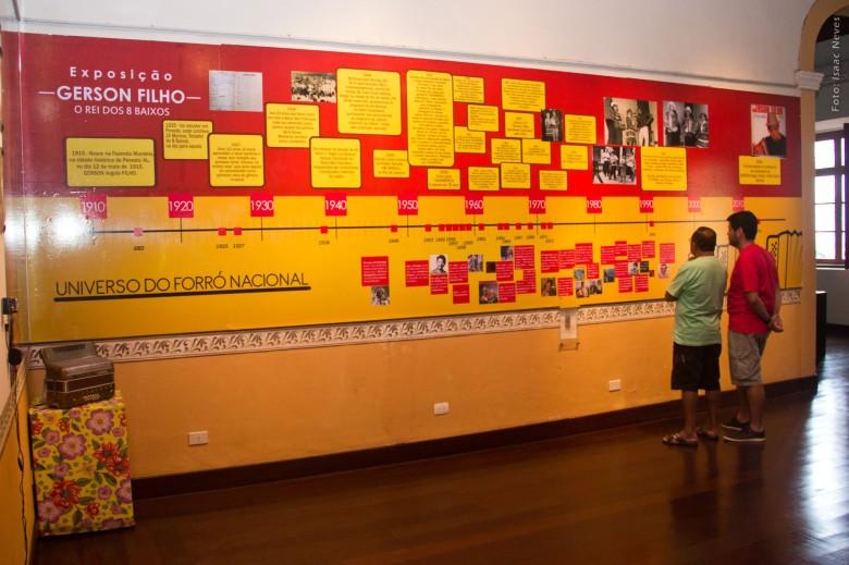 """Exposição """"Rei dos 8 Baixos"""", em cartaz no MISA, até 31 de julho. Foto: Isaac Neves"""