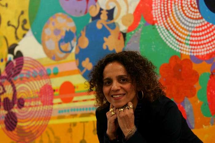 Pintora e ilustradora Beatriz Milhazes