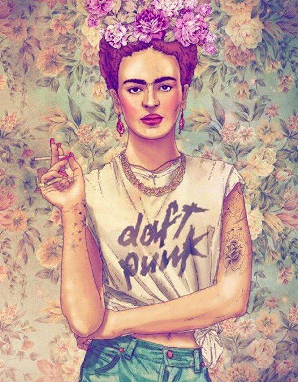 frida-kahlo-daft-punk