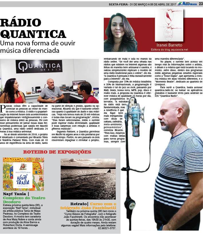 Aqui Acola - Coluna no Jornal de Arapiraca - 57