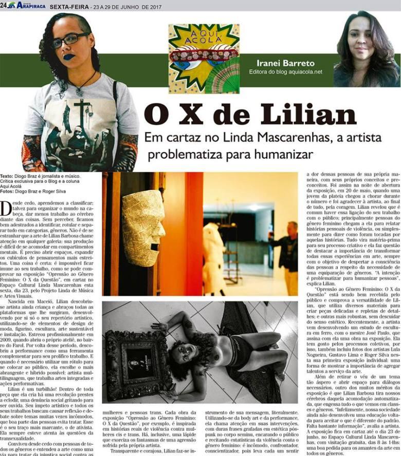 Coluna Aqui Acolá- Jornal de Arapiraca - edição 67