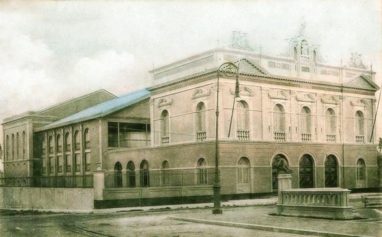 Teatro Deodoro (1915 ). Foto: Site História de Alagoas
