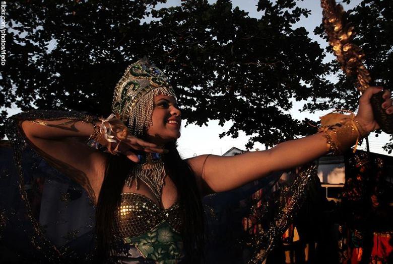 Iemanjá é a rainha dos oceanos e a mãe de todos os orixás.