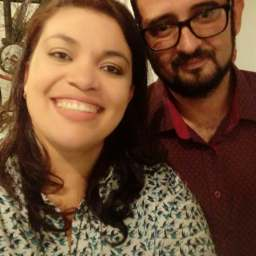 Milla Passan e Alisson Almeida