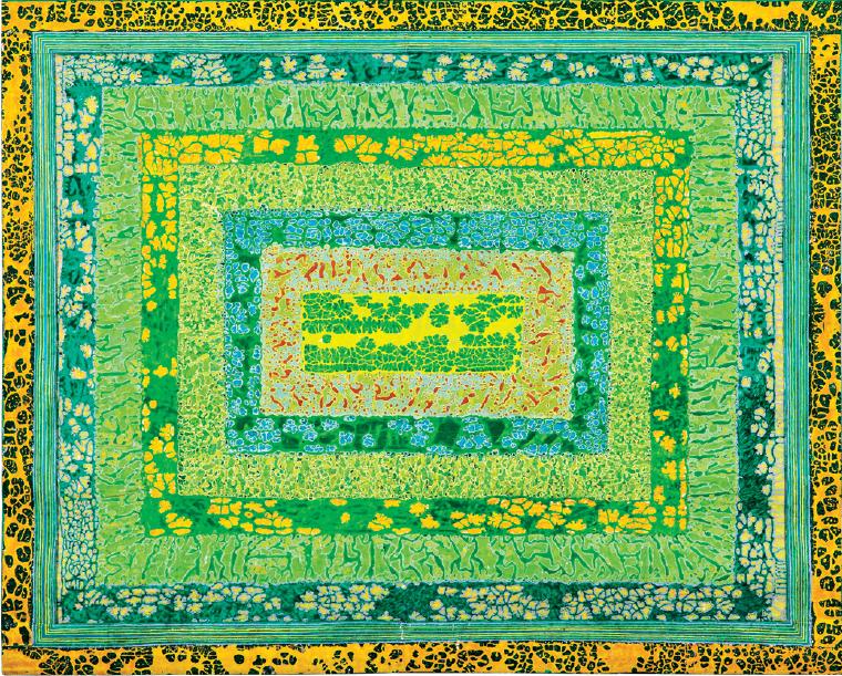 "Obra ""Hortelã (2012), de Delson Uchôa | Foto: Acervo do artista"