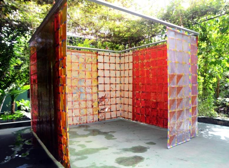 "Obra ""Pintura Habitada"", de Delson Uchôa | Foto: Acervo do artista"