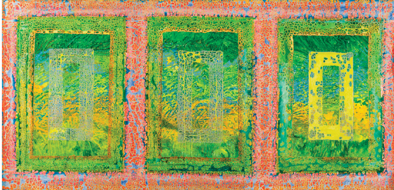 "Obra ""Janelão"" (2012), de Delson Uchôa | Foto: Acervo do artista"