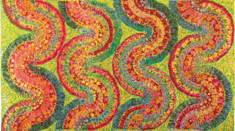 """Tatarana"", obra de Delson Uchôa | Foto: Acervo do artista"