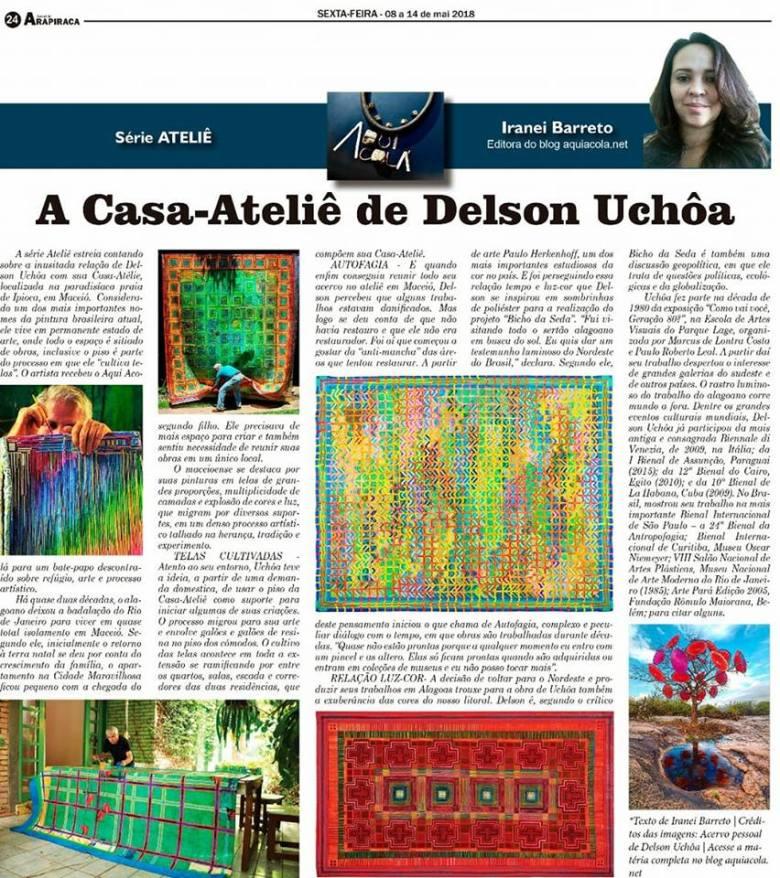 Coluna Aqui Acola - Delson Uchoa