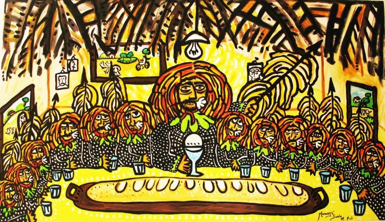 Ceia do Presidente Lula Maracatu - Caboclos de lança II, (2008)