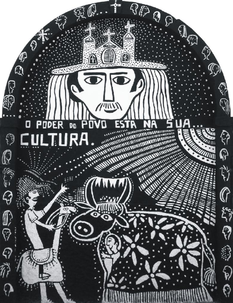 BLOG AQUI ACOLÁ - MYRNA MARACAJÁ - IARAGUA TEMATICO_PINTURA NA SÁ ALGUQUERQUE_2004