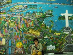 Museu Naif Rio de Janeiro (2010) | Foto: Acervo da artista