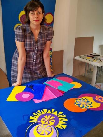 Ateliê atual de Marta Emília | Foto: Acervo da Artista