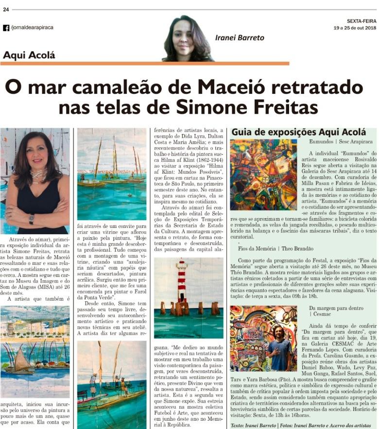 Coluna Aqui Acolá - blog