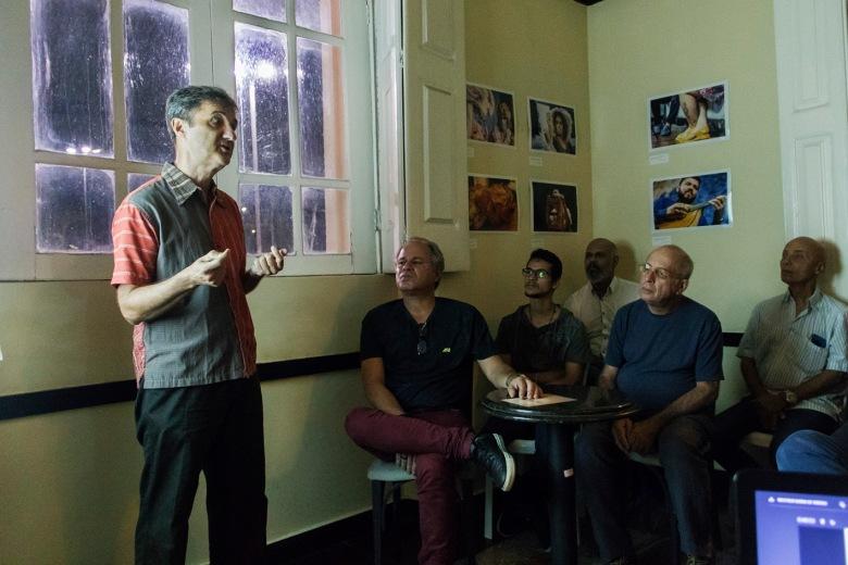 A 2ª Edição aconteceu em julho com o fotógrafo Francisco Oiticica | Foto: Arquivo FRAGMA