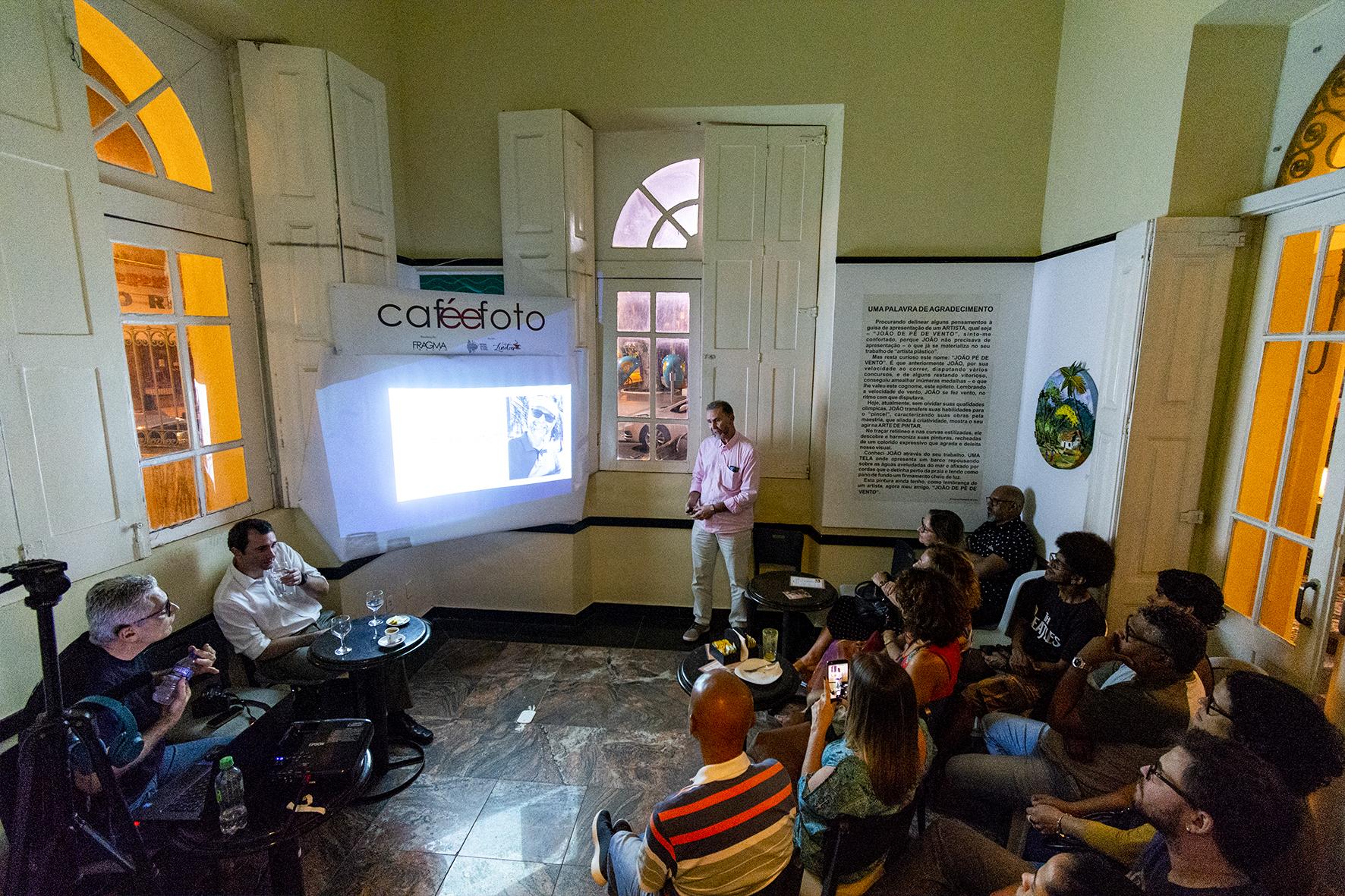 Na Edição, realizada em agosto, participaram os fotógrafos e idealizadores do Grupo Perambular Fotográfico, João Facchinetti e Alberto Lima | Foto: Arquivo FRAGMA
