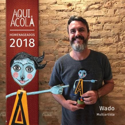 Homenageados Aqui Acolá 2018 - cantor, escritor e artista plastico Wado (3)