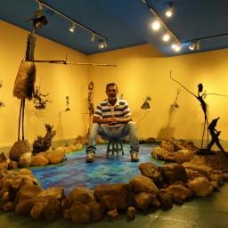 Exposição Caminhos (2016) - Jackson Lima | Galeria de Arte SESC Centro | (CURADORIA-MONTAGEM) | Foto: Robertson Dorta