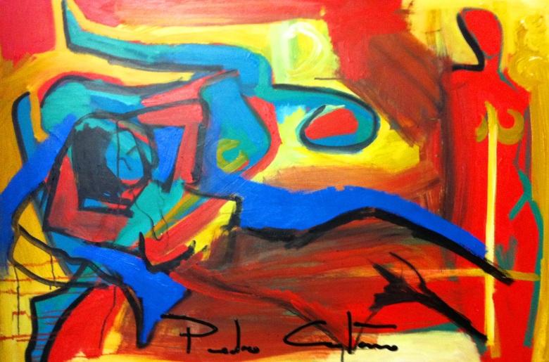 BLOG AQUI ACOLÁ - PEDRO CAETANO -Diagonal Azul AST 80 x 120
