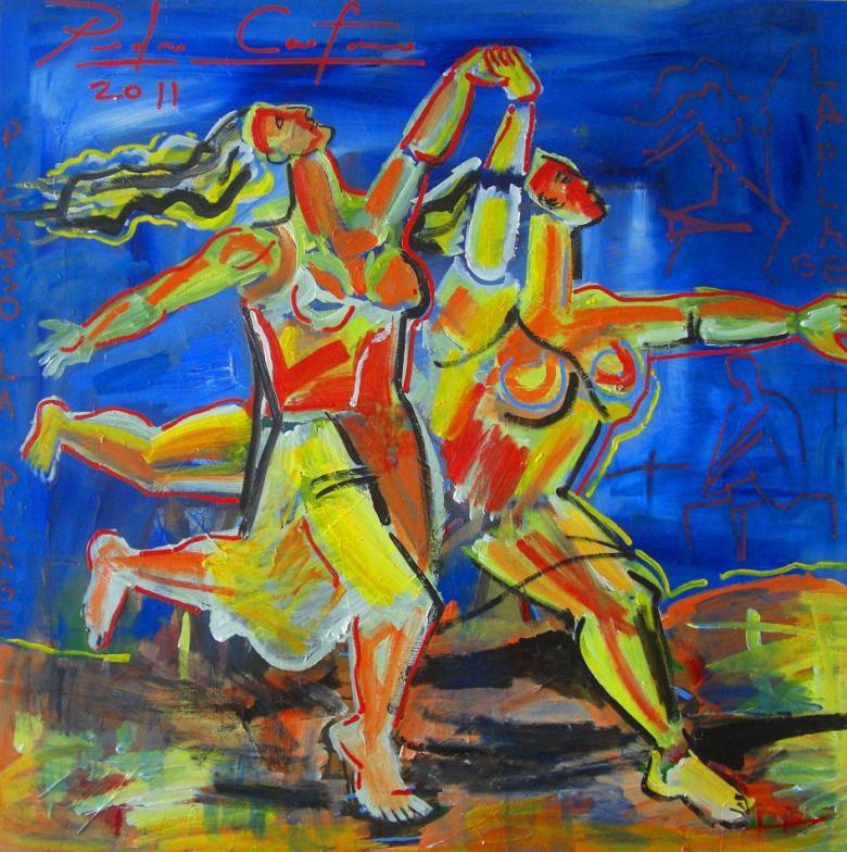 BLOG AQUI ACOLÁ - PEDRO CAETANO -Releitura de Picasso 2012