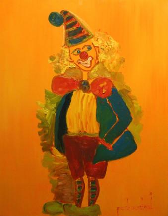 """Obra exposta na exposição """"Razões do Coração"""", de 2015, montada na Galeria do Cesmac."""