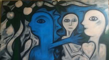 Obra de Persivaldo Figueirôa | Foto: Acervo pessoal do artista