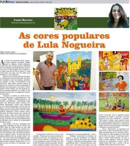 Publicado em 15 de junho de 2017 no Jornal de Arapiraca