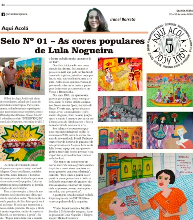 Publicado em 07 de maio de 2020 no Jornal de Arapiraca