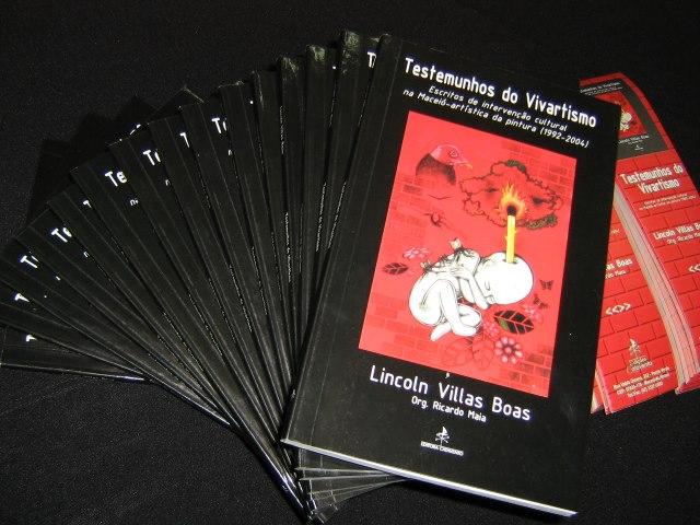 """Livro """"Testemunhos do Vivartismo: escritos da intervenção cultural na Maceió-artística da pintura (1992-2004)"""""""