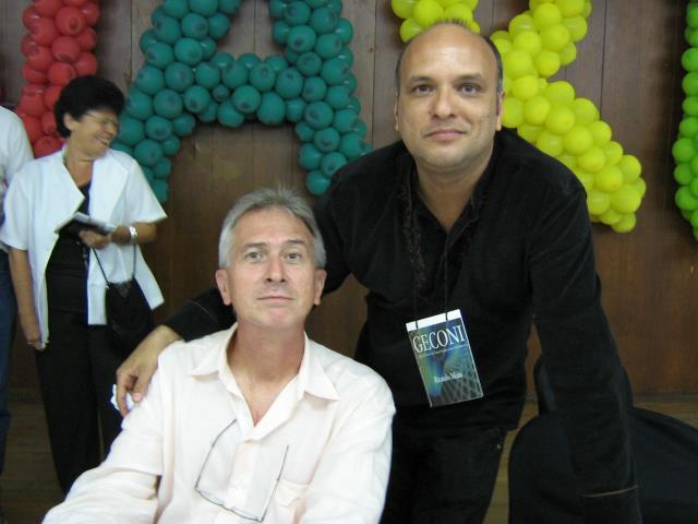 Ricardo Maia e Lincoln Villas Boas (Foto: Acervo de Ricardo Maia)
