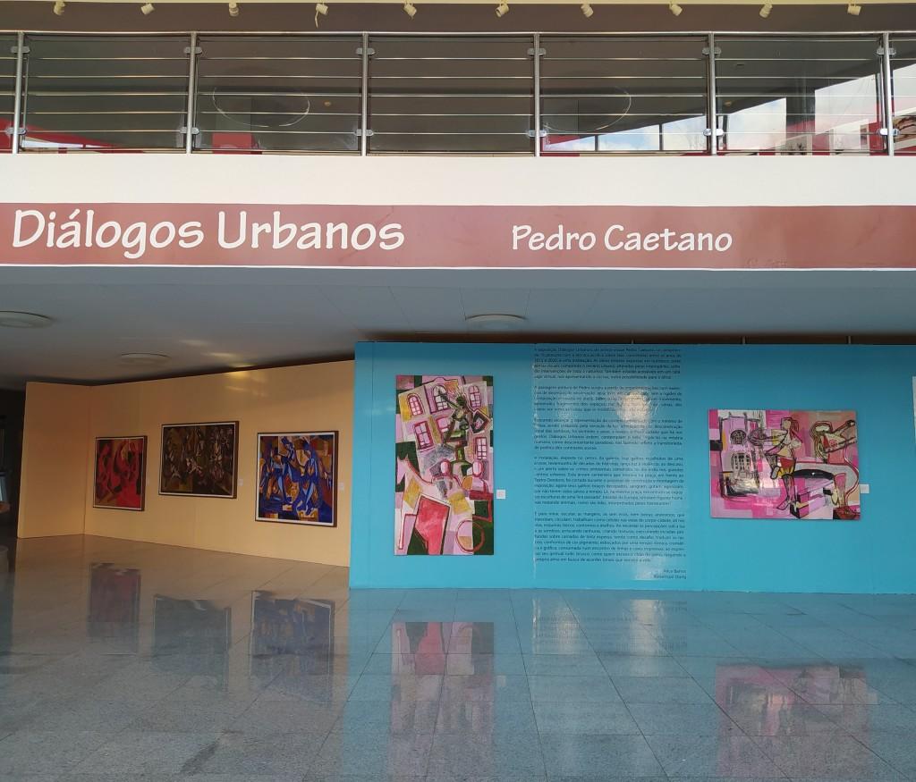 Exposição Diálogos Urbnos, de PEdro Caetano | Foto: Hannah Copertino
